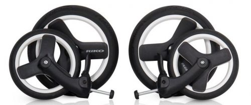 Bezdętkowe koła do wózków Nestro Viaro Re-Flex Brano Luxe Brano Natural Nano Ecco firmy Riko