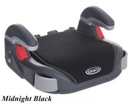 "Praktyczne siedzisko Booster Basic podstawka pod pupę "" poddupnik ""22-36 kg Graco - Midnight Black"