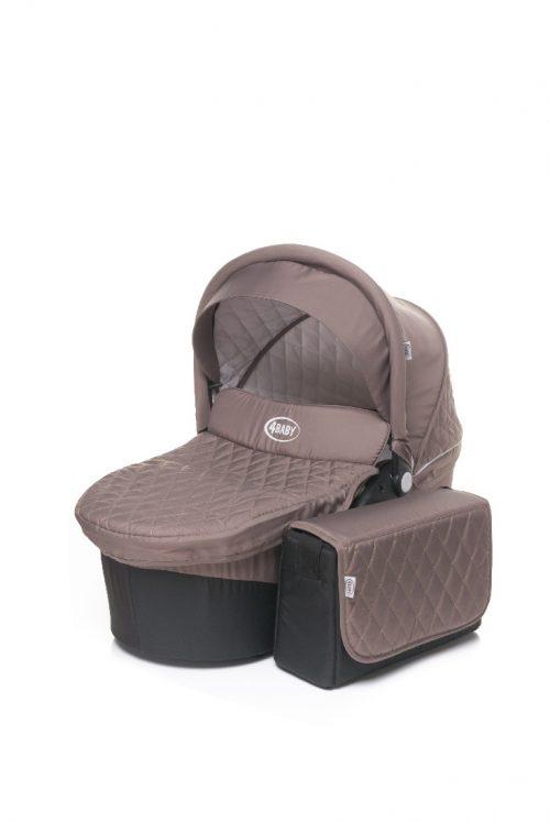 Gondola do wózka dziecięcego Atomic firmy 4 baby z torbą
