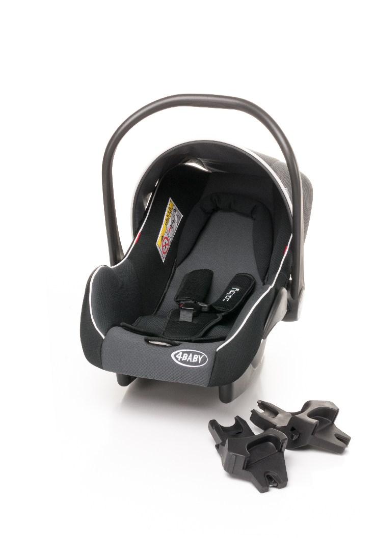 Komplet adapterów do montażu fotelika Colby na ramie wózka Atomic 4 baby