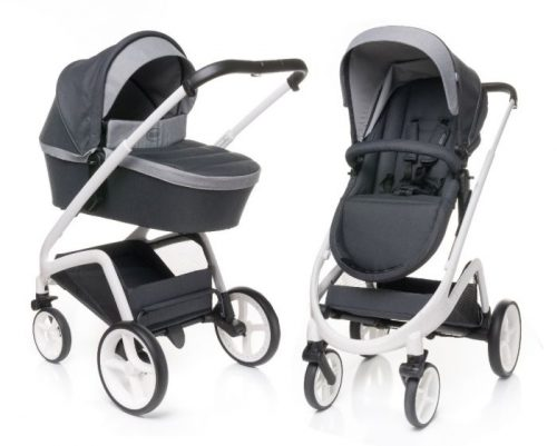4 Baby Wózek głlęboko spacerowy 2w1 Cosmo