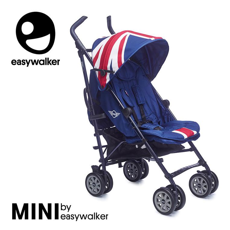 EasyWalker Mini XL spacerówka z opcją regulacji wysokosci rączki i większymi kołami