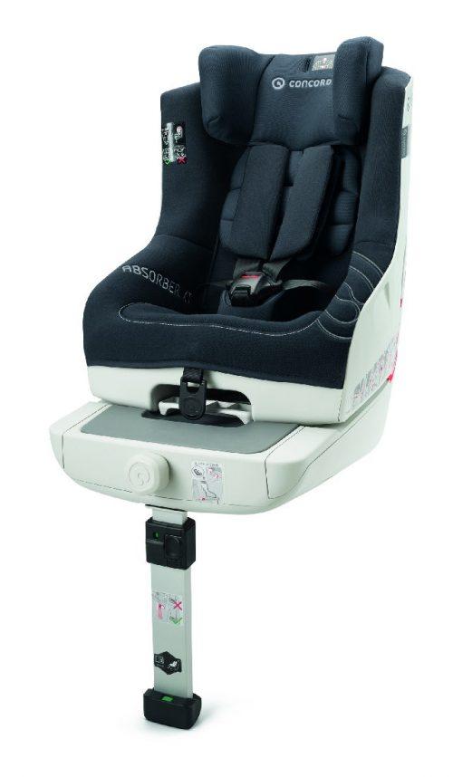 Fotelik samochodowy Concord Absorber XT 9-18 kg - montaż na isofix lub pasy