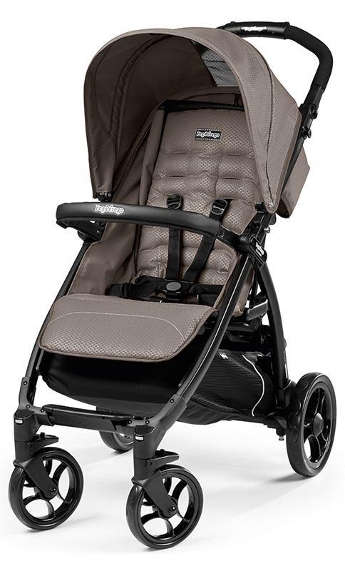 Kompaktowy i funkcjonalny wózek spacerowy Booklet firmy Peg Perego pałąk gratis