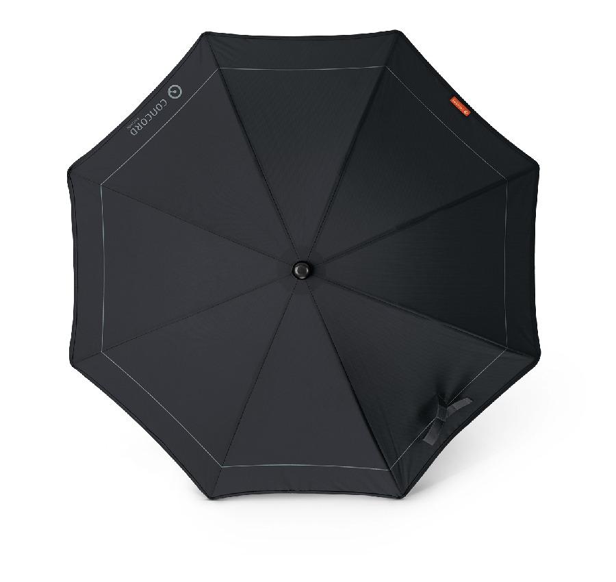 Parasolka przeciwsłoneczna czarna do wózka dziecięcego Concord