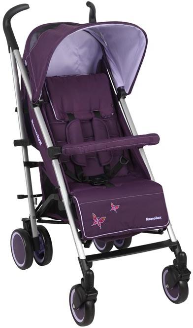 Lekki wózek spacerowy parasolka firmy Renolux Iris