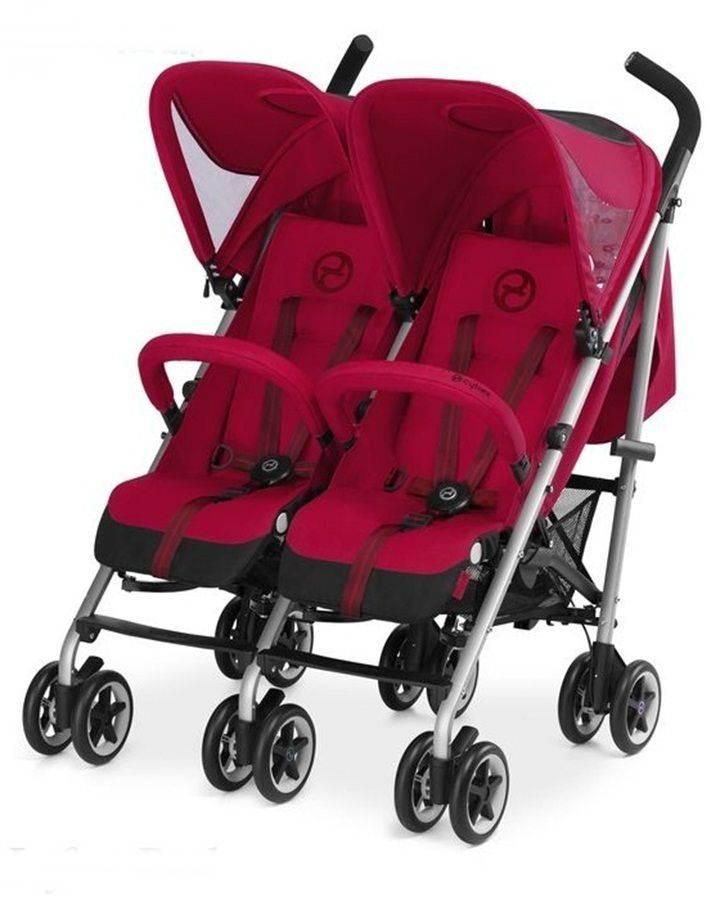 Bliźniaczy wózek spacerowy Twinyx Cybex
