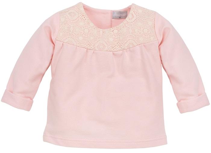 Bluzka z długim rękawem dla dziewczynki rózowa Colette Pinokio