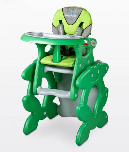 Dwufunkcyjne krzesełko do karmienia Caretero Primus z możliwością przekształcenia w stolik i krzesło