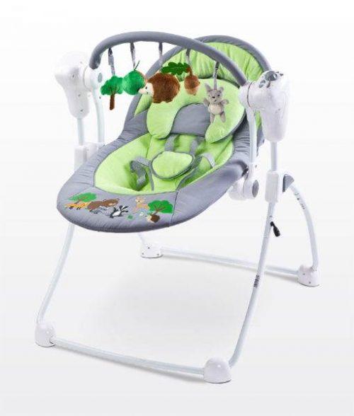 Huśtawka niemowlęca Forest z melodiami i systemami bujania, Caretero