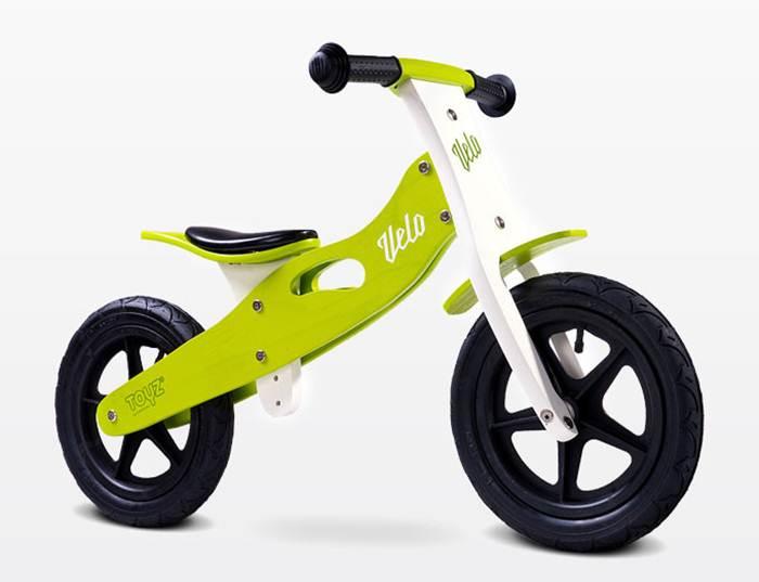 Drewniany rowerek biegowy Velo dla dzieci od 3-6 roku życia, Toyz