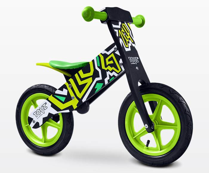 Drewniany rowerek biegowy Zap dla dzieci od 3-6 roku życia, Toyz