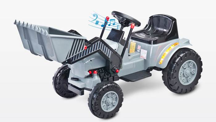 Traktor na akumulator Bulldozer Toyz - pojazd na pilota dla dzieci od 3 roku życia