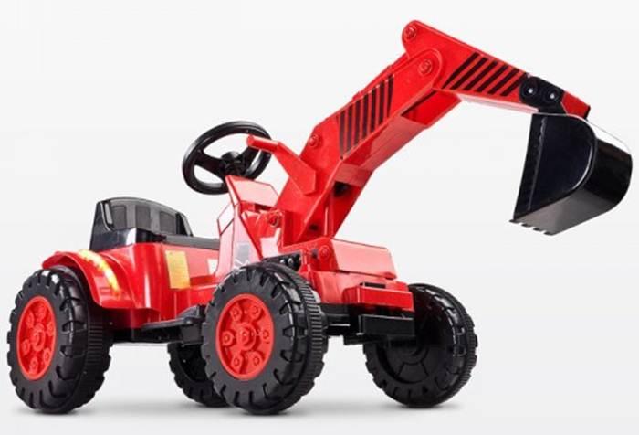 Pojazd na akumulator koparka Digger, Toyz