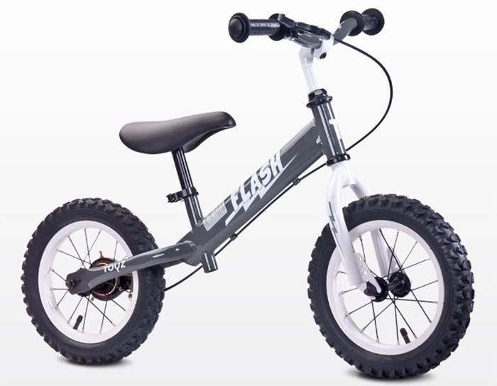 Metalowy rowerek biegowy Flash dla dzieci 3-6 lat, Toyz
