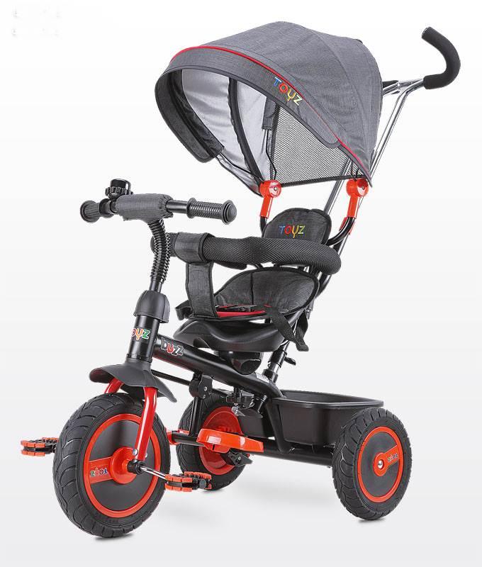 Rowerek 3-kołowy Buzz z obracanym siedziskiem, daszekm i koszykiem na zakupy - Toyz