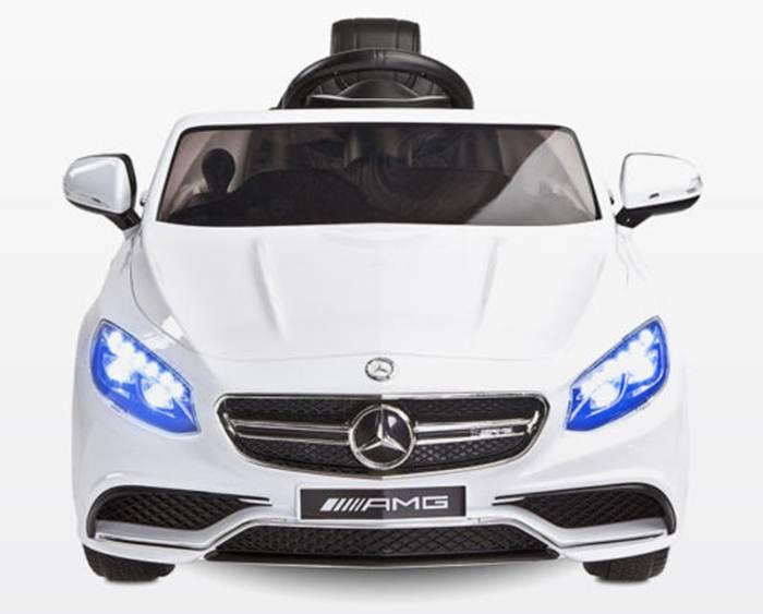 Samochód Mercedes-Benz S63 AMG dla dzieci na akumulator z pilotem dla rodzica, Toyz