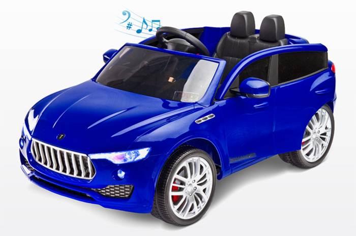 Pojazd dla dzieci na akumulator Commander + pilot dla rodzica, Toyz