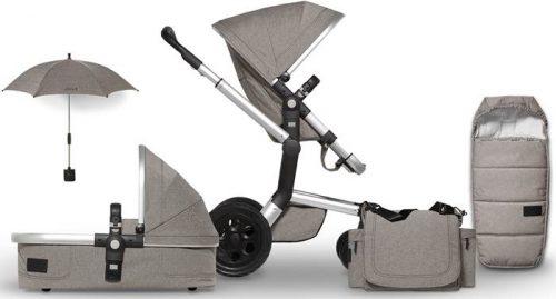 Wózki dziecięce głęboko spacerowe Joolz Day Studio - w zestawie ze śpiworkiem polarowym i torbą