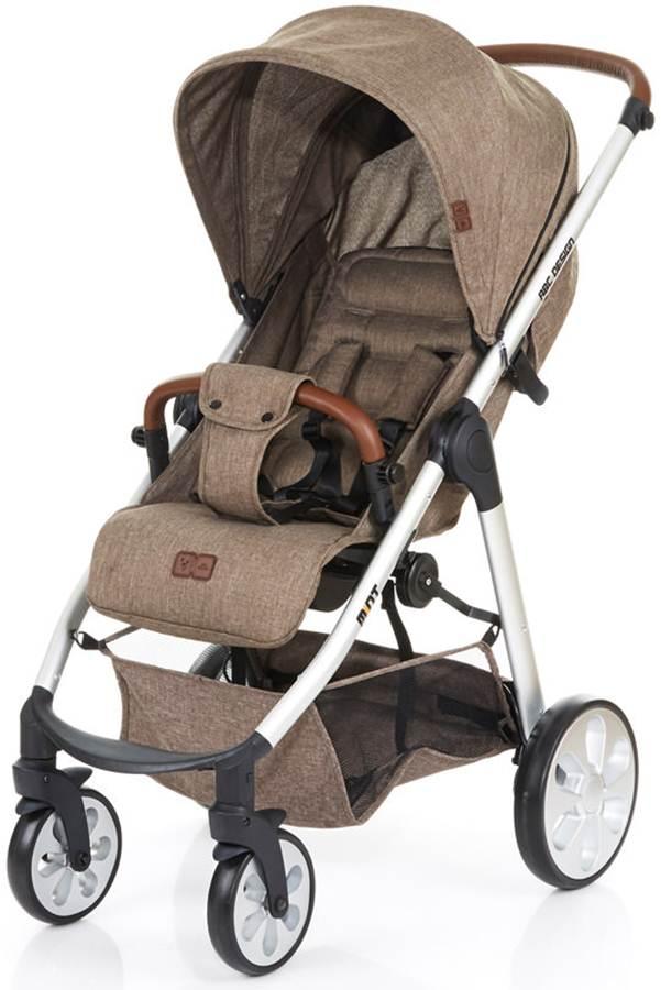 Stylowy wózek spacerowy Mint + okrycie na nóżki, Abc Design