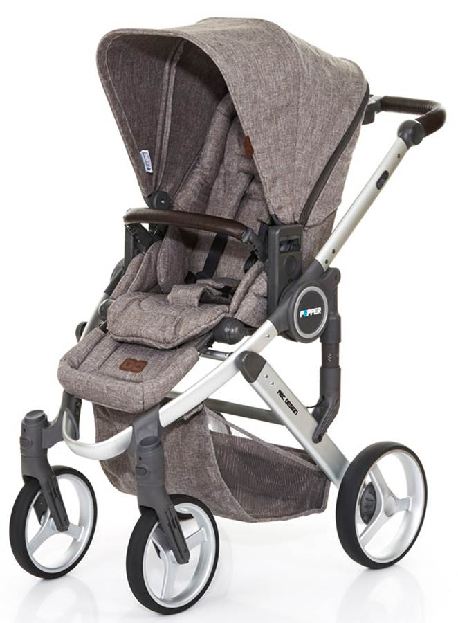 Wózek spacerowy Pepper czterokołowy - nowość 2017, Abc Design