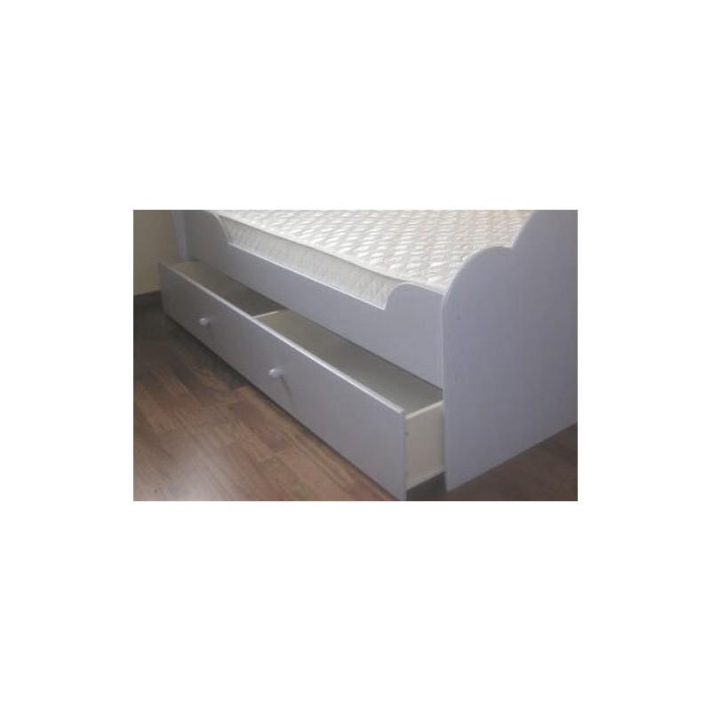 Wzmacniana szuflada na kółkach pod łóżko Flower