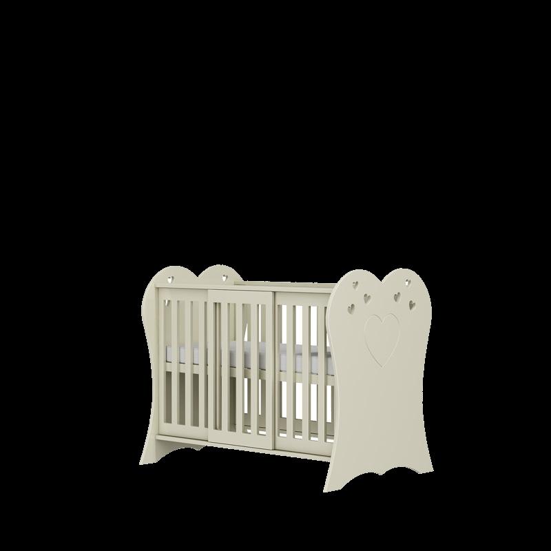Łóżeczko niemowlęce Romantic 120x60 Baby Best