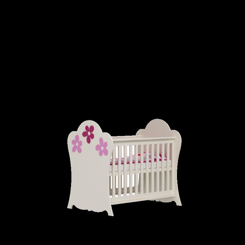 Łóżeczko niemowlące 120x60 Flower Baby Best