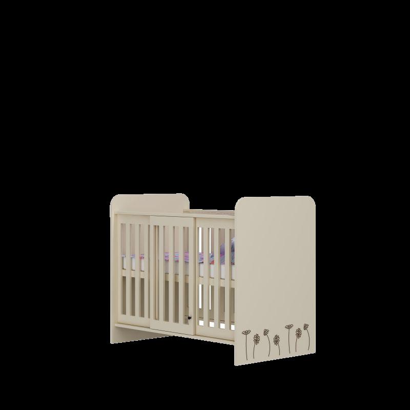 Łóżeczko dzieciece Baby Best Daisy 120x60