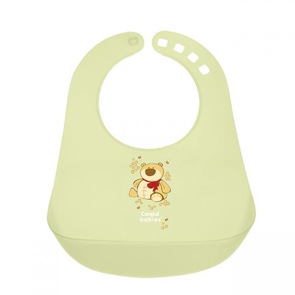 Plastikowy śliniaczek z kieszonką Canpol Babies