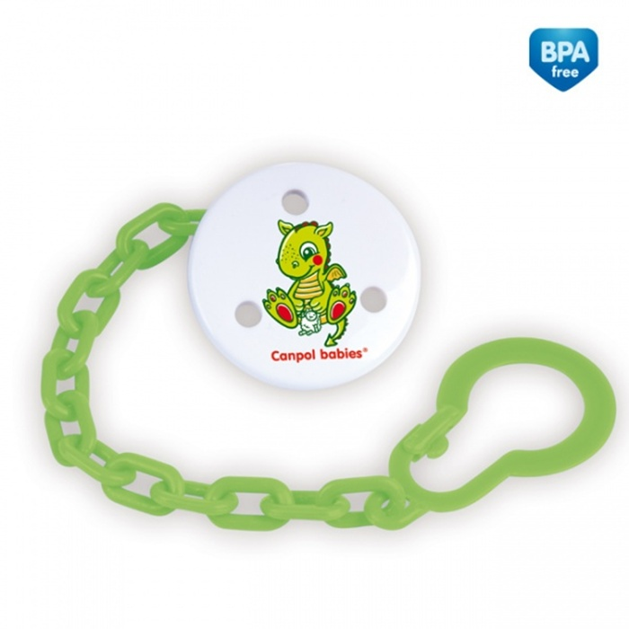 Łańcuszek do smoczków Canpol Babies z kolekcji Baśnie