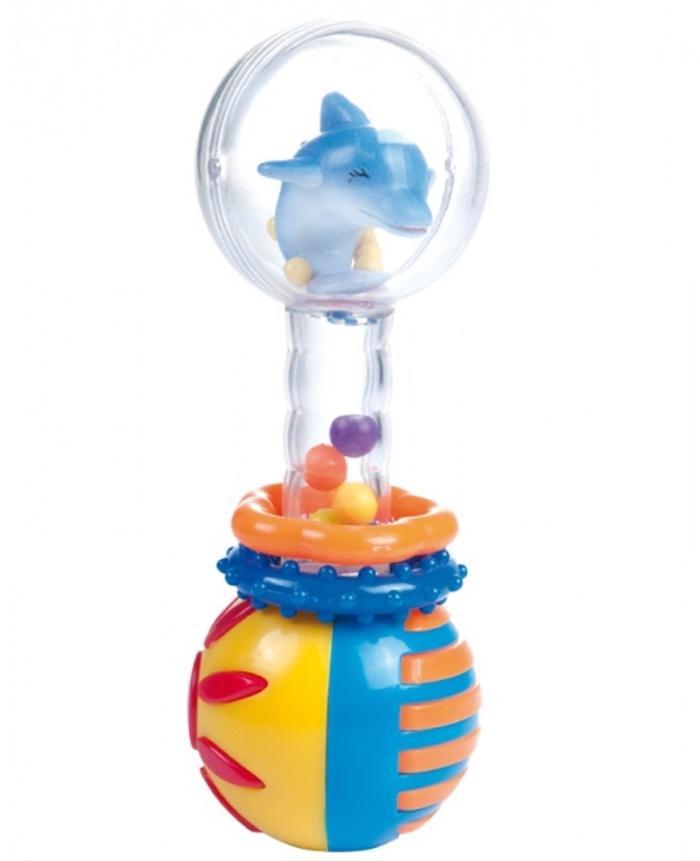 Obrotowa kolorowa grzechotka z tykającą kulką Canpol Babies
