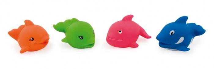 Zabawka do kąpieli Canpol Babies rybki i delfinki
