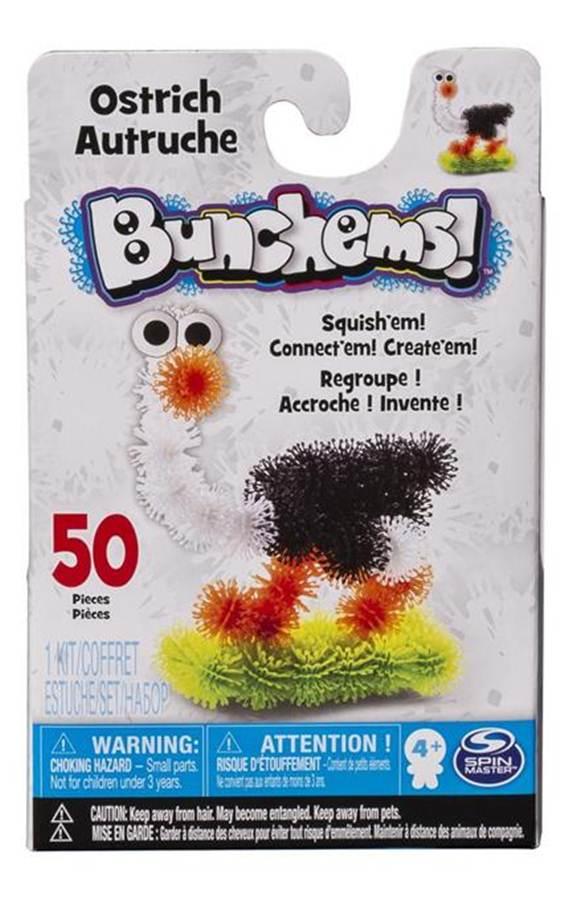 """Kolorowe rzepy kreatywne """"Kumple Struś"""", Bunchems"""