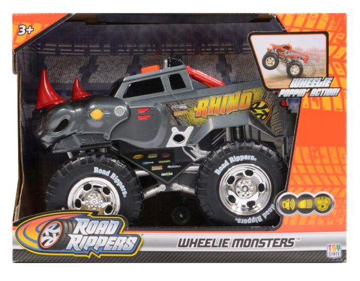 Toy State Road Rippers – Wheelie Monsters – Roarin Rhinoceros