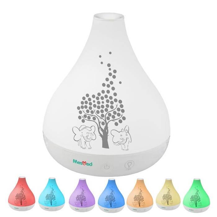 Nawilżacz powietrza - aromatyzer, lampka z 7 kolorami światła MM - 727