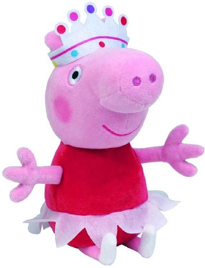 Pluszak maskotka Świnka Peppa 15 cm Świnka Peppa Ballerina