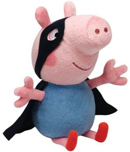 Pluszak maskotka Świnka Peppa 15 cm  George Superbohater