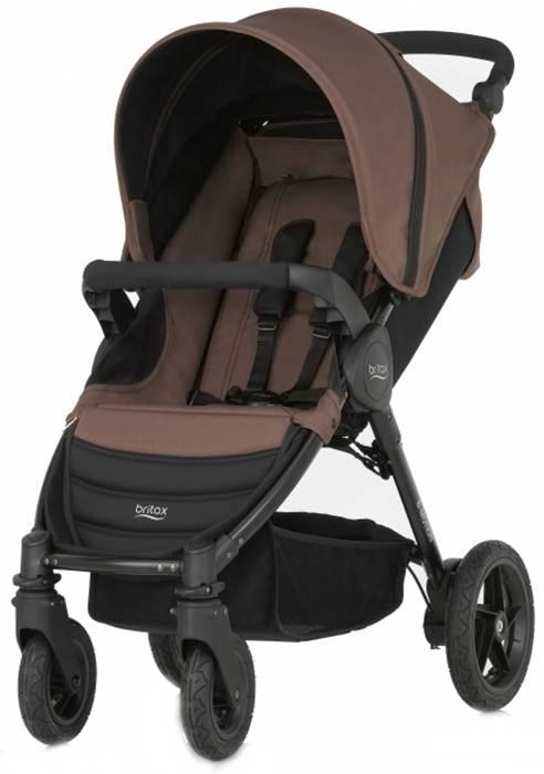 Spacerowy wózek dziecięcy Britax B-Motion - wersja 4-kołowa od 0-17 kg