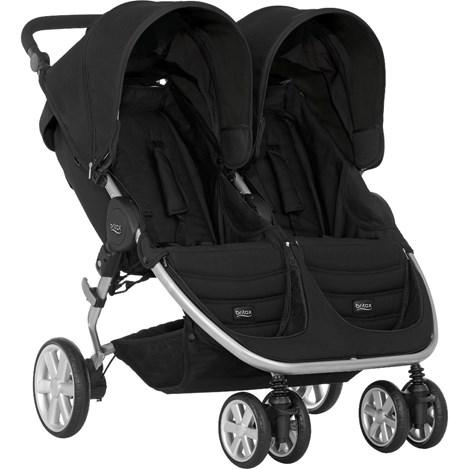 Bliźniaczy wózek spacerowy dla rodzeństwa Britax B-Agile Double - z możliwością montażu fotelika