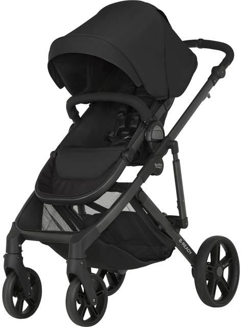 Lekki wózek spacerowy z możliwością montażu gondoli i fotelika B-Redy Britax Romer do 17 kg