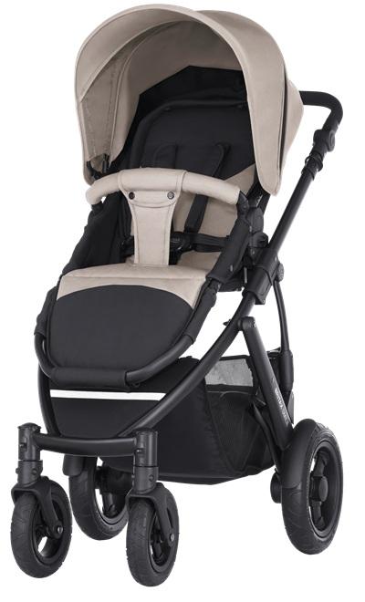 Wózek spacerowy na pompowanych kołach Smile 2 Britx max waga dziecka 17 kg