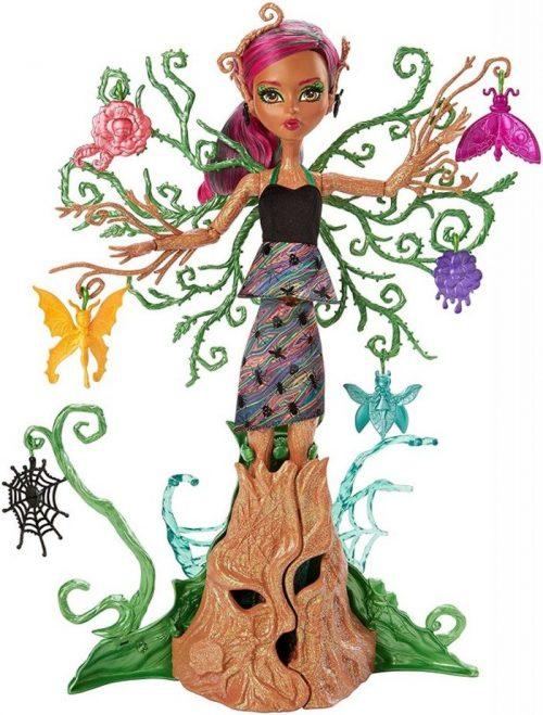 Monster High Treesa Leśna nimfa rosnąca FCV59