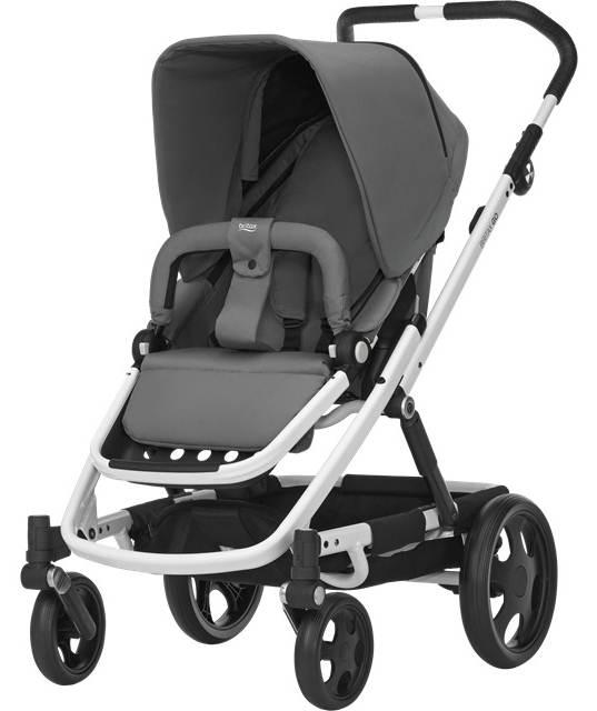Wózek spacerowy Go od 6 miesięcy do 17 kg z możliwością zamontowania gondoli, Britax Romer
