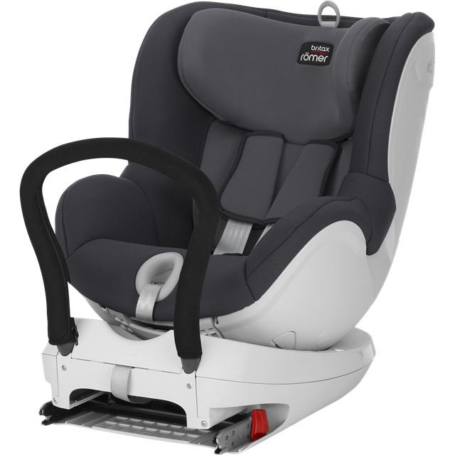 Bezpieczny fotelik montowany tyłem i przodem do kierunku jazdy, Britax Romer DualFix 0-18 kg 360 stopni