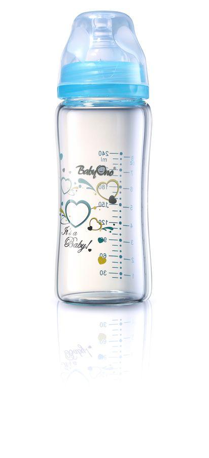 Butelka szklana szerokootworowa 260 ml BabyOno