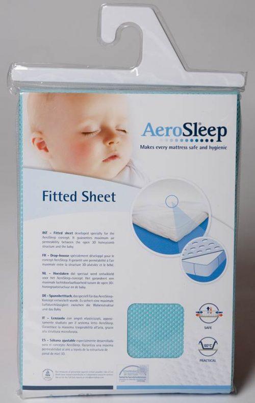 Aerosleep baby podkład higieniczny fitted sheet 40x80