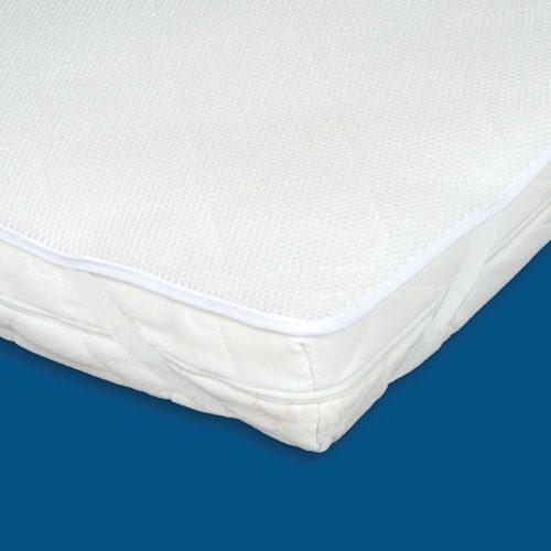 Aerosleep baby materac Elegance 40x80 ze zdejmowanym ochraniaczem i strukturą plastra miodu