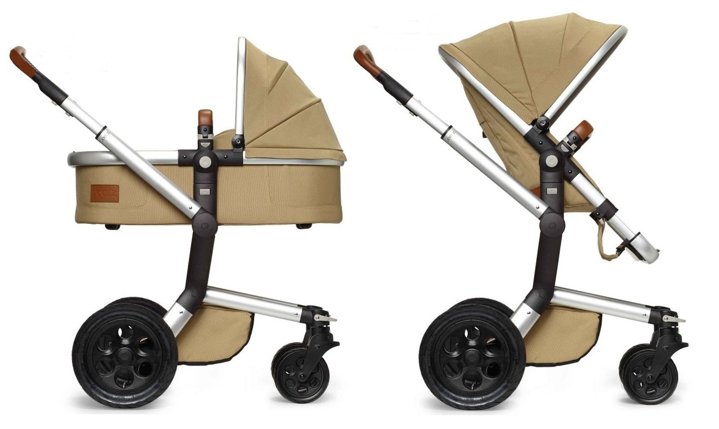 3w1 Głęboko spacerowy wózek dziecięcy Joolz Day Earth z fotelikem z testami ADAC