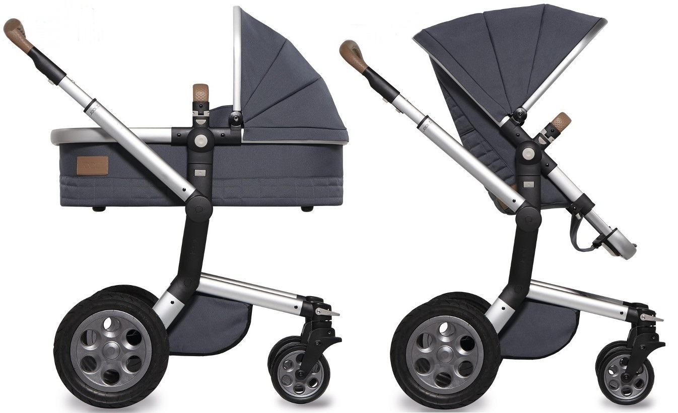 Trzyfunkcyjny wózek głęboko spacerowy Joolz Day Quadro z fotelikiem Modular Joolz  Besafe 0-13 kg